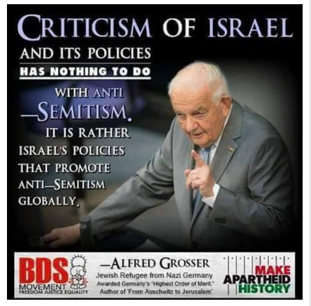 criticism-of-israel-and-israelis-policies-nothing-to-do-with-anti-semitism